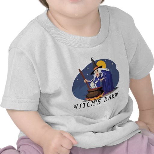 Witch's Brew T Shirt Tees
