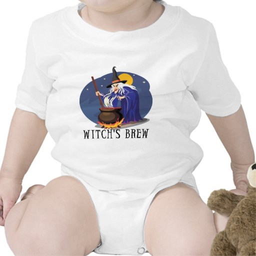 Witch's Brew Tee Shirt Rompers