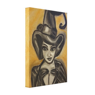 Witchy Catz Canvas Print