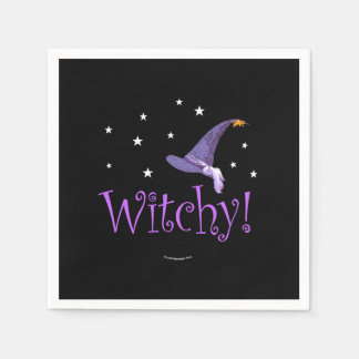Witchy Disposable Napkin