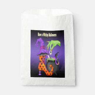 Witchy Halloween Favour Bag Favour Bags