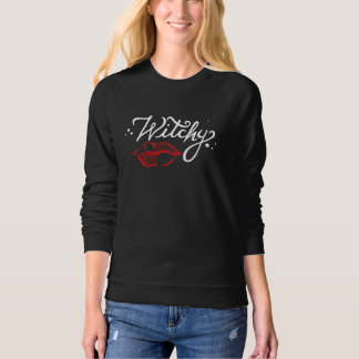Witchy Kiss Sweatshirt