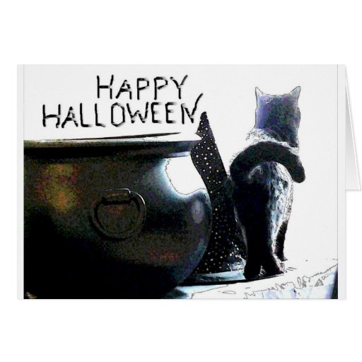 Witchy Kitty Card