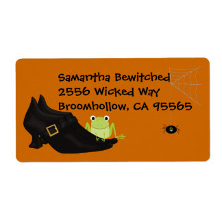 Witchy Shoes Avery Label Shipping Label