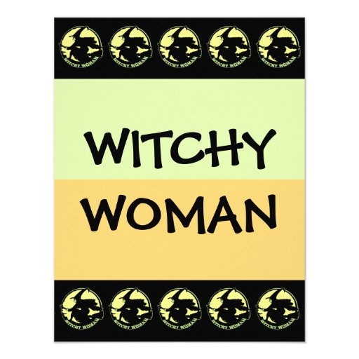 Witchy Woman Custom Announcement