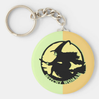 Witchy Woman Key Chains