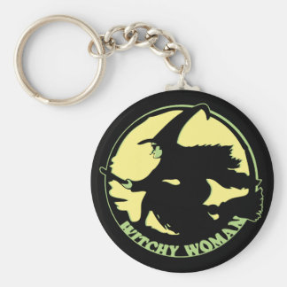 Witchy Woman Keychains
