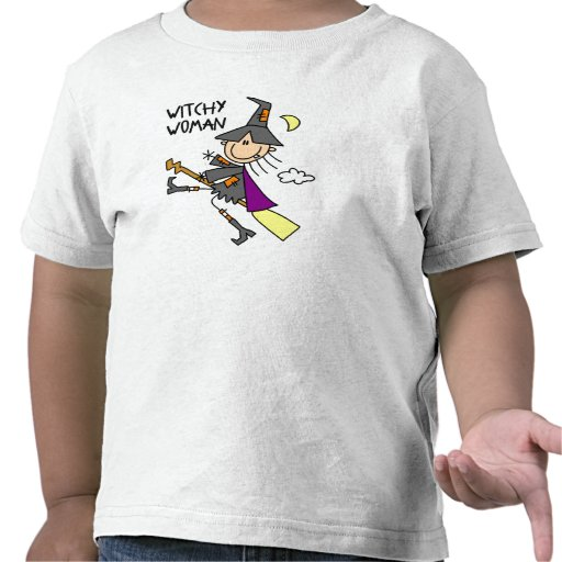 Witchy Woman Toddler Halloween T-Shirt