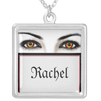 Witchy Woman Wicked Eyes Halloween Pendant