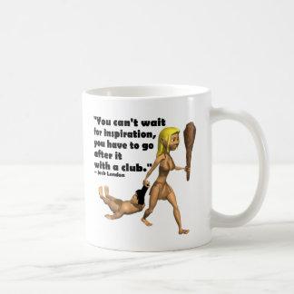 With a Club Mug