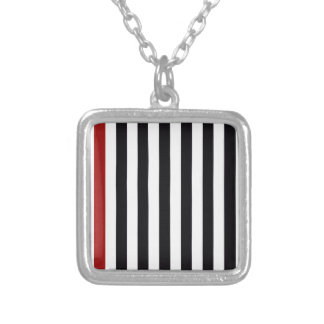 With A Red Stripe Jewelry