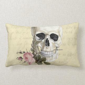 With a rose between my teeth lumbar pillow