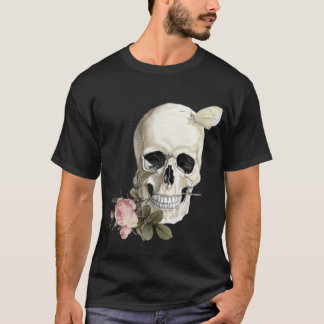 With a rose between my teeth T-Shirt