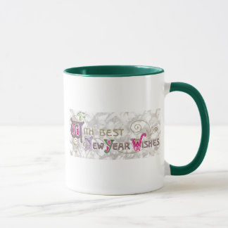 With Best New Year Wishes Mug