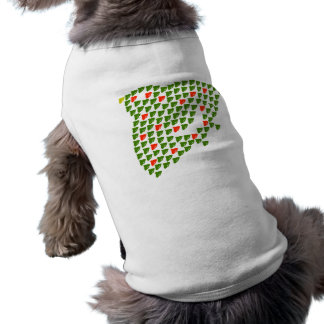 With crowd of plover Mary Christmas Sleeveless Dog Shirt