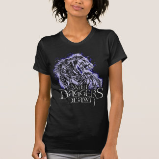 With Daggers Drawn Pale Horse Girlie Tshirts