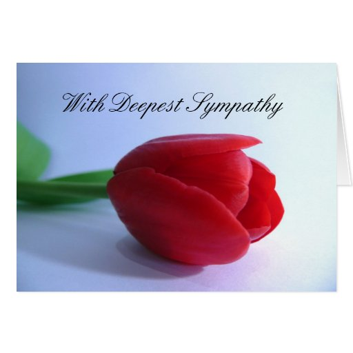 With Deepest Sympathy Cards