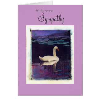 With deepest, Sympathy Greeting Card