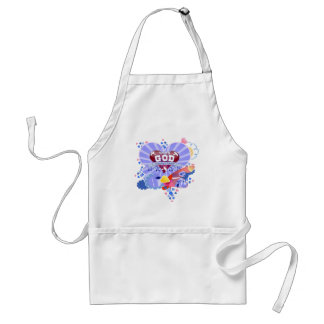 With God Hearts Standard Apron