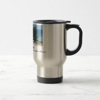 With God I Find Peace Travel Mug