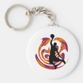 WITH GREAT POWER BASIC ROUND BUTTON KEY RING