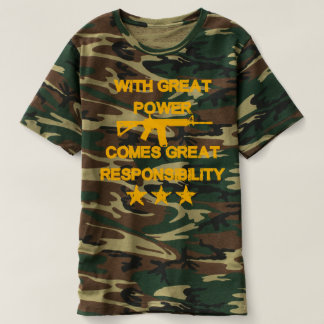 With great power comes great responsibility T T-Shirt