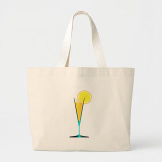 With Ice And Lemon Large Tote Bag