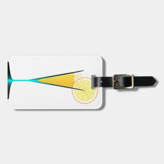 With Ice And Lemon Luggage Tag