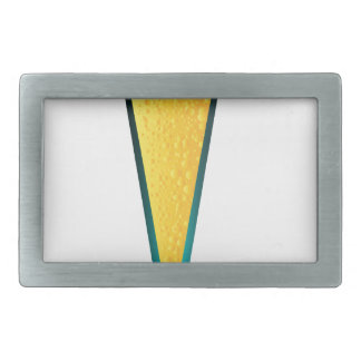 With Ice And Lemon Rectangular Belt Buckles