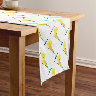 With Ice And Lemon Short Table Runner