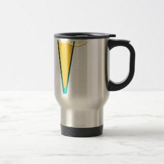 With Ice And Lemon Travel Mug