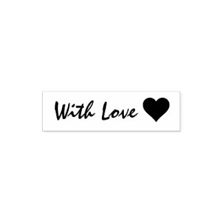 With Love and Heart Self-inking Stamp