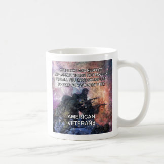 With Love And Respect Veterans Day Mug