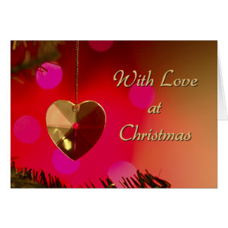 With Love at Christmas card