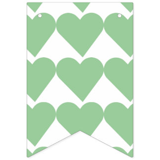 """""""WITH LOVE"""" BUNTING"""