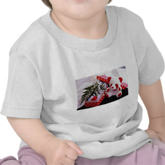 With love  flowers tee shirts