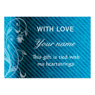 With Love Gift Tag Business Card