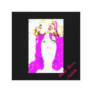 """With Love, Nikita""  (Canvas Wall Art) Canvas Print"