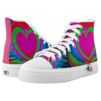 With Love Printed Shoes