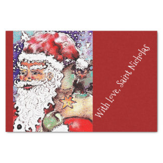 With Love, Saint Nicholas Tissue Paper