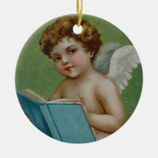 With Love, Your Guardian Angel Round Ceramic Decoration