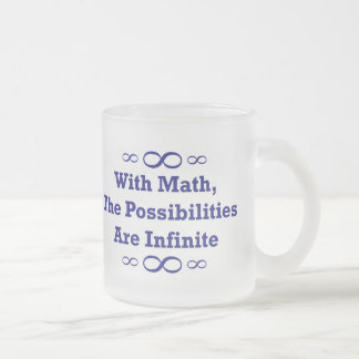 With Math, The Possibilities Are Infinite Coffee Mugs