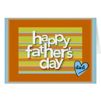 With My Heart Father's Day Card