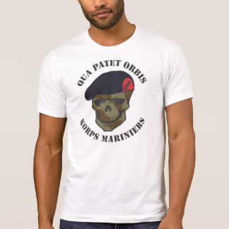 With regard to Patet Orbis, corps Mariniers T-Shirt