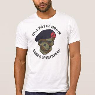 With regard to Patet Orbis, corps Mariniers Tees