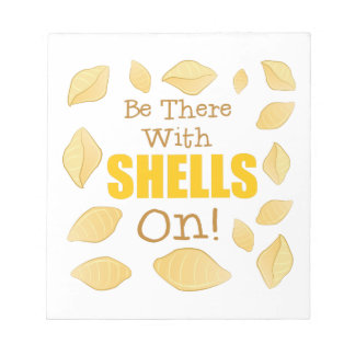 With Shells On Notepad