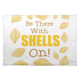With Shells On Placemat