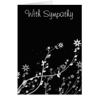 With Sympathy note card