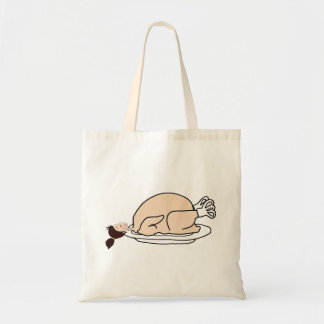 With table for Thanksgiving! - Budget Tote Bag