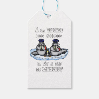 With the BRIGADE OF the MORSES there is no PENGUIN Gift Tags